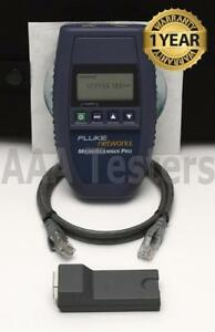 Fluke Networks Microtest Microscanner Pro Network Cable Tester Ver