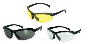 Global Vision C2 Bifocal Safety Glasses Clear Smoke Yellow Lenses Ansi Z87
