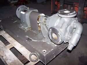 Viking 2 1 2 Heavy Duty Gear Pump Lq4724d With 7 42 1 Gear Reducer