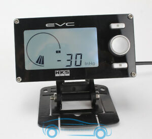 Lcd Evc Turbo Boost Valve Electronic Controller Kit Monitor Motorsports Refit