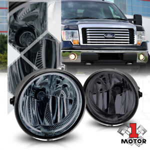 Crystal Clear Ccfl Halo Ring Fog Light W harness For 11 14 F150 lincoln Mark Lt