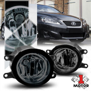 Smoke Ccfl Halo Ring Fog Light W harness For 06 13 Camry matrix corolla prius