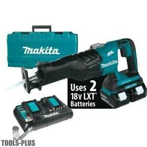 Makita Xrj06m 18v X2 4 0ah Lxt Li ion 36v Brushless Reciprocating Saw Kit New