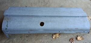 Oliver 70 Tractor Hood 70 Row Crop Hood Oliver Sheet Metal Part Top Hood