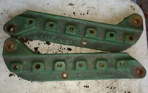 Oliver 70 Tractor Set Of Seat Mounting Brackets Parts Seat Bracket Row Crop