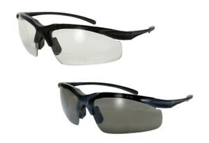 Global Vision Apex Bifocal Safety Glasses Ansi Z87 1 2010 Clear Or Smoke Lens