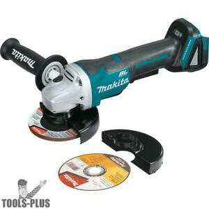 Makita Xag11z 18v Lxt Li ion Brushless 4 1 2 Angle Grinder tool Only New