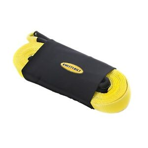 New Recovery Strap 30 000 Lb Capacity Cc330 3 X 30 Ideal For Towing Vehicles