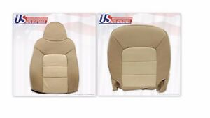 2003 To 06 Expedition Eddie Bauer Driver Top And Bottom Perforated Leather Seats
