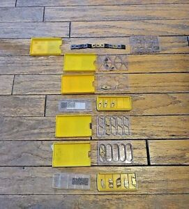 Mixed Lot 28 X Various New Kennametal Carbide Inserts