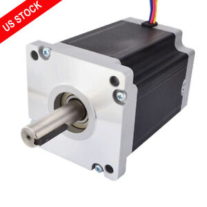 Us Ship Nema 42 Stepper Motor 22nm 3115oz in 6 0a 4 Wires Cnc Router Kits