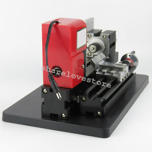 Usa Ship Model Making Mini Metal Motor Lathe Machine Wood Working Power Tool Diy