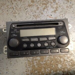 05 06 Honda Element Radio Mp3 Cd Player 39101 Scv A110 M1 Oem 2005 2006