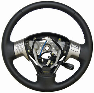 2009 13 Toyota Corolla matrix Steering Wheel Black Leather New Oem 4510002e80b0