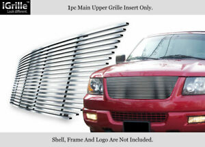 Fits 2003 2006 Ford Expedition Stainless Steel Billet Grille Insert