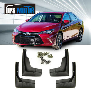 Oe Front Rear 4pcs Set Fender Splash Mud Guards Flaps For 15 17 Usa Toyota Camry