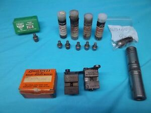 LOT OF BULLET MOLD BLOCKS & MISC                           640