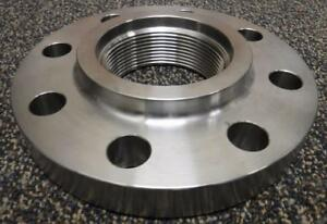 Stainless Steel Pipe Flange F316 3 Threaded 300 Lb T697a