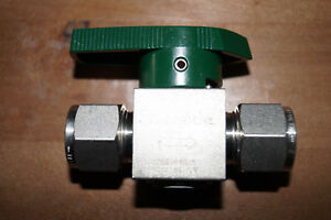 Swagelok Quarter Turn Instrument Plug Valve 1 2 In ss 8p6t