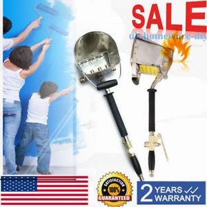 4jet Cement Spray Stucco Hopper Mortar Gun Sprayer Gun Tools Wall Sprayer Us