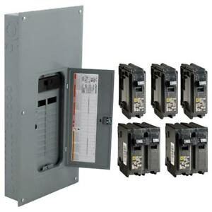 Square D 200 amp 40 circuit 20 space Electric Main Breaker Load Center Panel Box