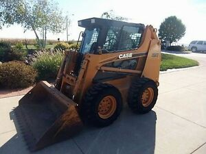 Case 1845c 1 2 Extreme Duty Door Cab Enclosure skid Steer Loader All Case