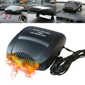 2 In 1 Car Truck Portable Auto Heater Heating Cooling Fan Defroster Demister 12v