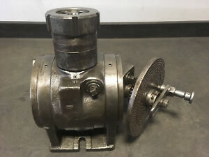 Used Milling Machine Indexing Dividing Head W C16 Balas Collets Usa