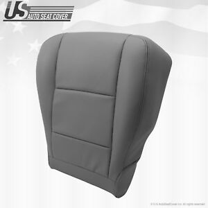 Fits 2001 To 2004 Toyota Sequoia Tundra Driver Bottom Leather Seat Cover Gray