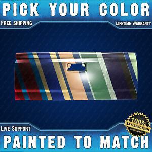 New Painted To Match Steel Tailgate For 2014 2019 Silverado Sierra Pickup