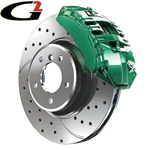 Green G2 Brake Caliper Paint Epoxy Style Kit High Heat Made In Usa Free Ship