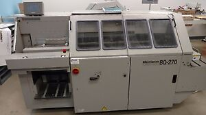 Horizon Bq 270 Perfect Binder Bourg Duplo Morgana Heidelberg