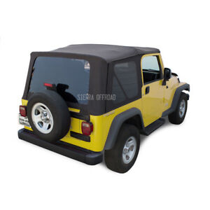 Jeep Wrangler Tj Soft Top 03 06 Tinted Windows Black Diamond