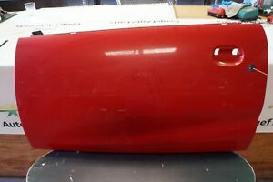 04 Saturn Ion Coupe Front Left Lh Exterior Door Cover Panel Shell 6879
