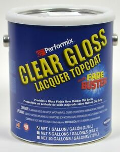 Performix F95610109 Clear Glossifier Lacquer Topcoat 1 Gallon