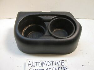 Ford Ranger Cup Holder With Insert Front Center Split Bench 4l5z1013562aab 163