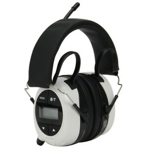 Safety Works 00260 Bluetooth Mp3 Am fm Digital Radio Ear Muffs