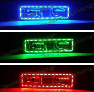 88 98 Chevy Gmc Truck Color Changing Led Rgb Upper Headlight Halo Ring One Each