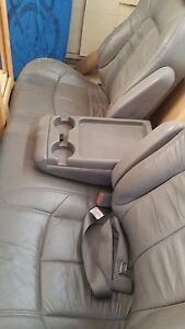Chevy Astro Van Leather Rear Second Or Third Row Bench Backet Seat