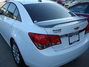 Fits 2011 2014 Chevrolet Cruze Painted Spoiler Wing White