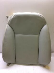 05 Saab 9 3 Convertible Front Right Seat Upper Cushion Leather L20 Tan Oem Used