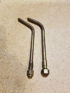 2 Prest o lite Pol 5 Acetylene Screw In Torch Tips