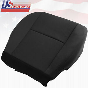 Chevy Avalanche Driver Side Bottom Replacement Cloth Seat Cover Shade Black