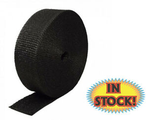 Heatshield Hs322050 Black Exhaust Wrap 2 x50