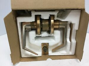 D53ld rho 612 Door Knob Storeroom Function Satin Bronze for Parts
