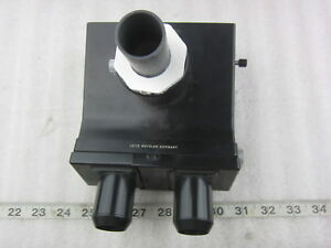 Ernst Leitz Gmbh Wetzlar 302 045 093 Microscope Trinocular Head Part Used
