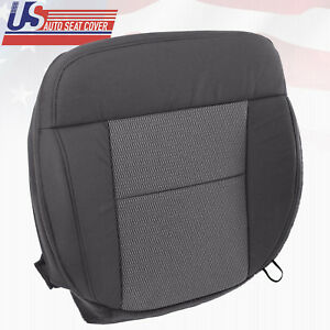 2004 2006 Ford F150 Front Driver Bottom Replacement Cloth Seat Cover Dark Gray
