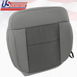 2004 2006 Ford F150 Driver Side Bottom Replacement Cloth Seat Cover Flint Gray