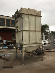 Mikro pulsaire 100s8 20 Bag House Filter Dust Collector 942 Sq Ft