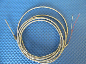 New Universal Dynamics Thermocouple 11272 Tip 6 Lead 12 Type J L18 1 Free Ship